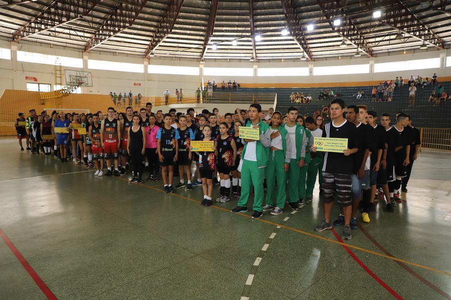 Ginásio de Esportes recebe abertura dos Jogos Escolares de Nova Andradina - Nova News