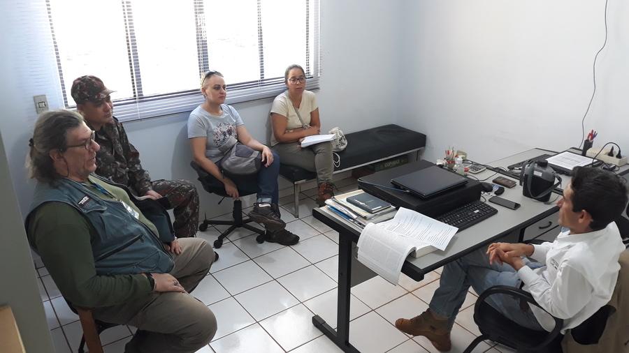"""Nova Andradina - Semadi dá apoio ao Imasul em visita técnica para verificar situação de macacos na """"matinha"""" - Nova News"""