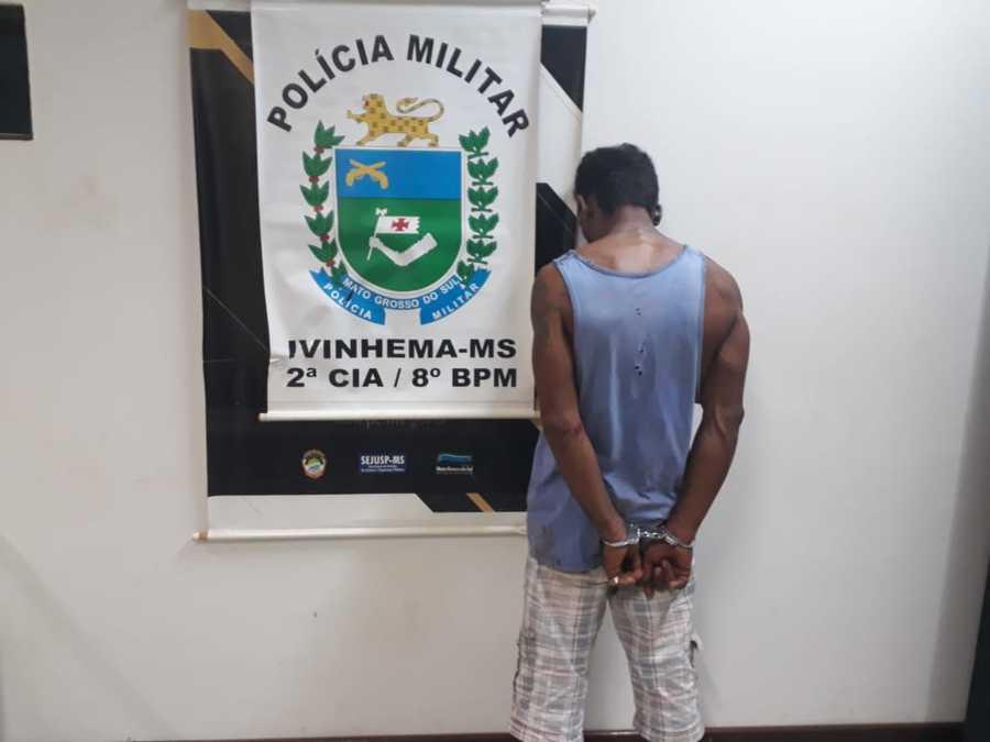 Homem é preso após agredir companheira em Ivinhema - Nova News