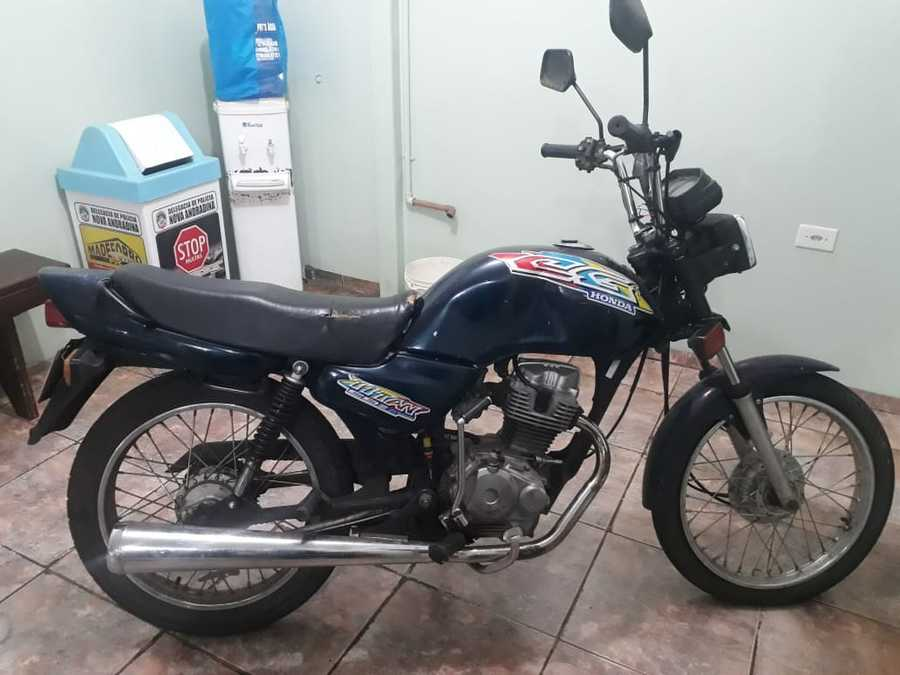 Center moto furto