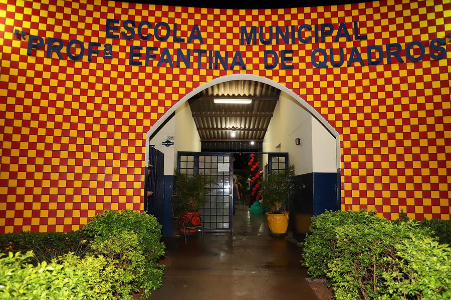 Center escola municipal efantina de quadros