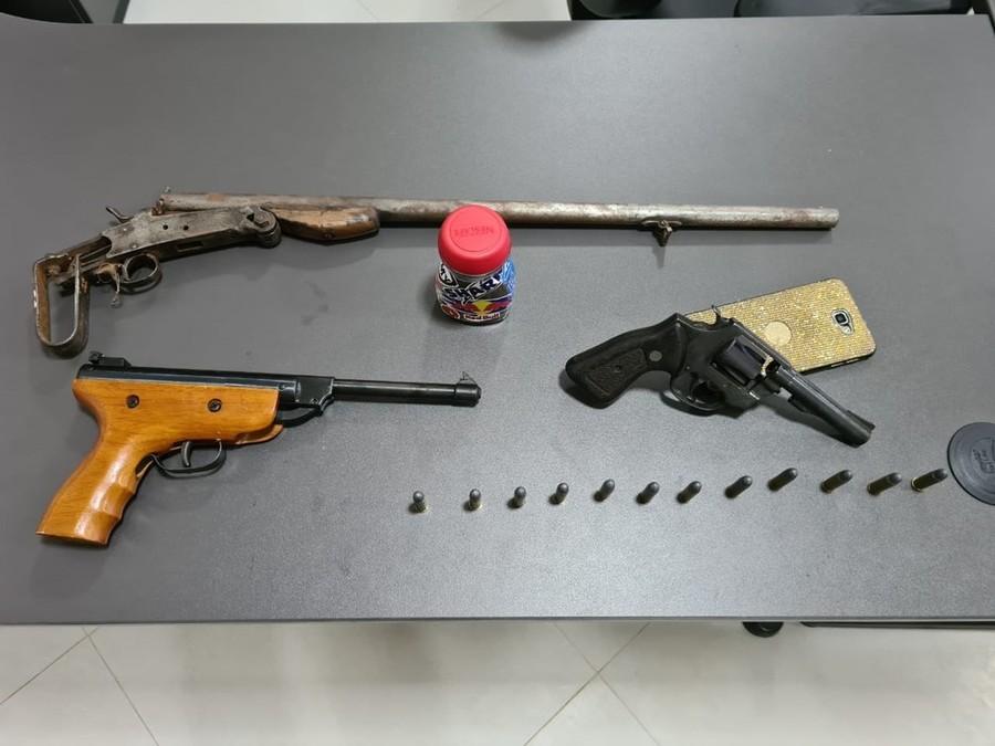Center armas de fogo apreendidas 1
